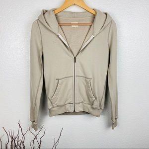 *Aritzia Wilfred Free Full Zip Hoodie Sweatshirt*